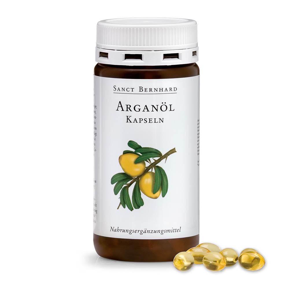 Argan oil capsules