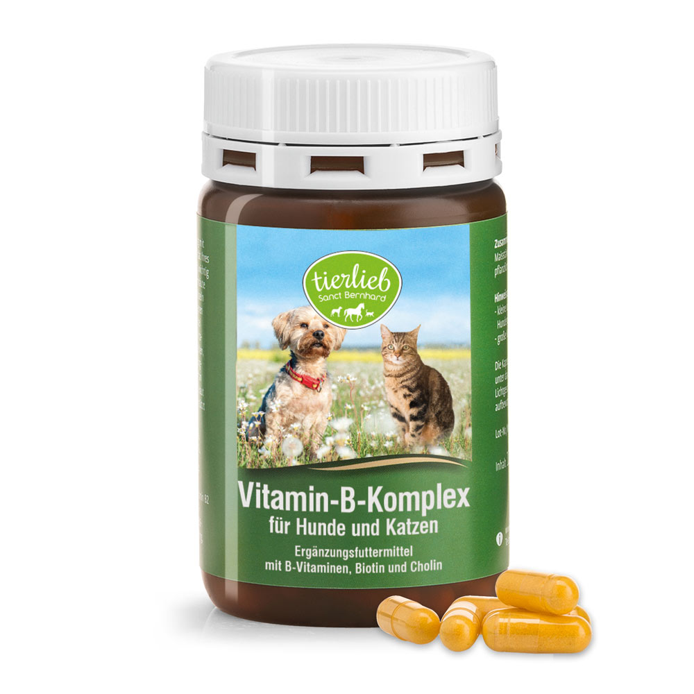 Tierlieb Vitamin-B-Complex for dogs and cats