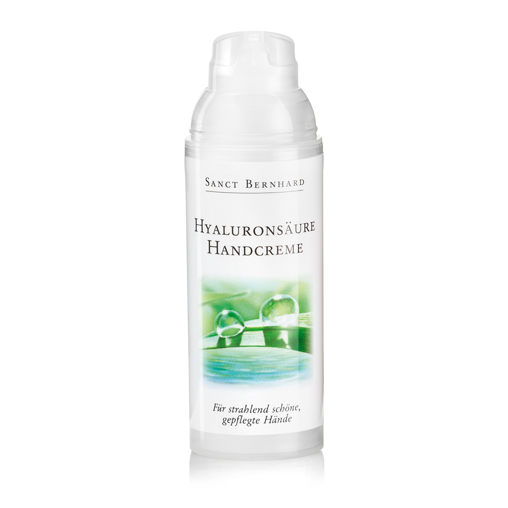 Hand cream with hyaluronic acid