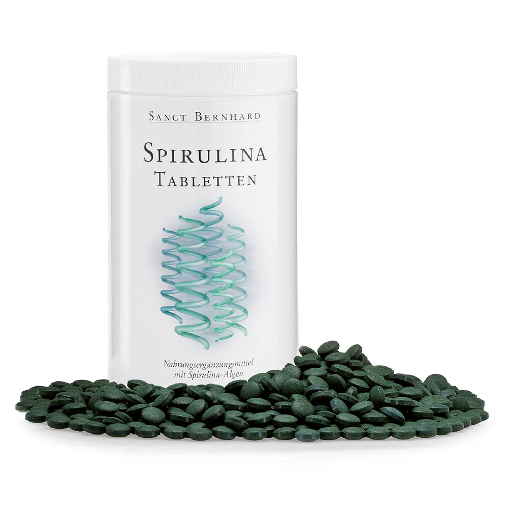 Spirulina Tablets | Kräuterhaus Sanct Bernhard | Online Shop.
