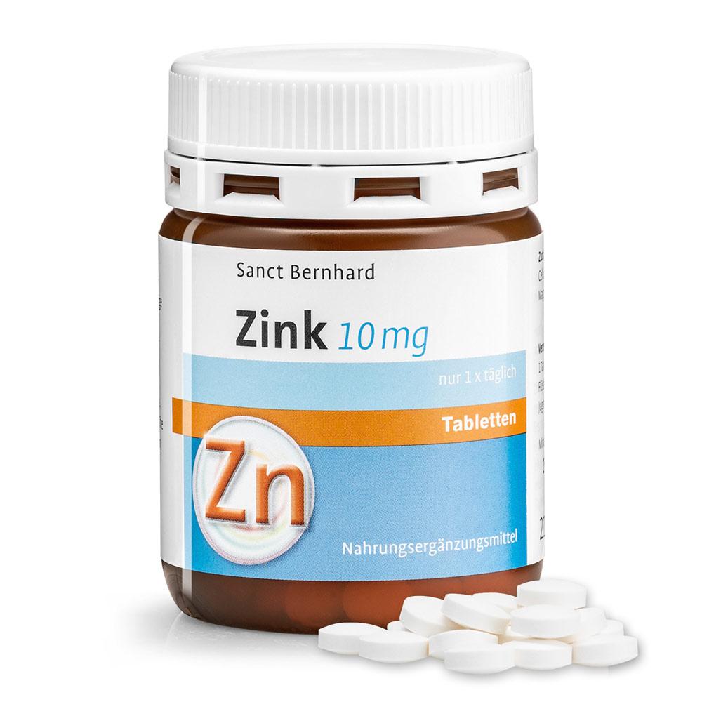 Zinc Tablets 10 Mg Krauterhaus Sanct Bernhard Online Shop